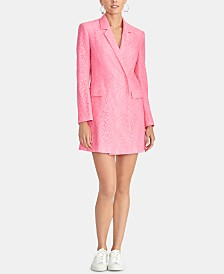 RACHEL Rachel Roy Darla Lace Blazer Dress