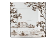 Wedgwood Parkland Accent Plate Square