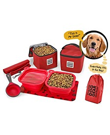 Dog Gear Dine Away Bag for Medium and Large Dogs