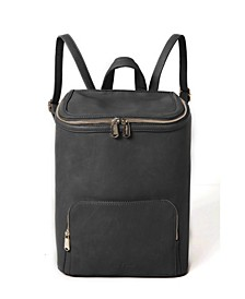 West Vegan Leather Backpack
