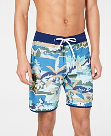Men's Highline Graphic Board Shorts