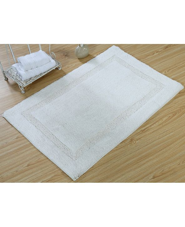 "Saffron Fabs Regency 36"" x 24"" Non-Skid Cotton Bath Rug"