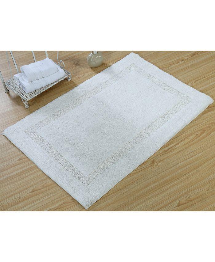 Non Skid Cotton Bath Rug, 30 X 50 Bathroom Rugs