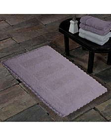 Crochet Lace SPA Reversible Cotton Bath Rug Collection