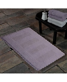 Saffron Fabs Crochet Lace SPA Reversible Cotton Bath Rug Collection
