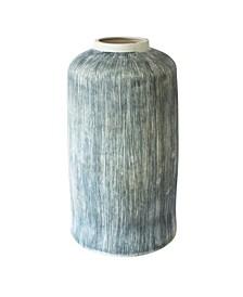 Large Taroudant Indigo Pillar Vase