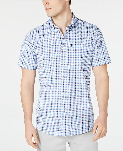 Barbour Men's Tailored-Fit Endsleigh Check Seersucker Shirt