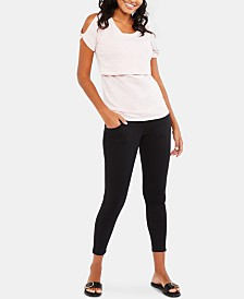 BOUNCEBACK Motherhood Maternity Post-Pregnancy Skinny Pants