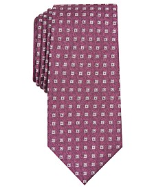 Alfani Men's Slim Neat Tie, Created for Macy's
