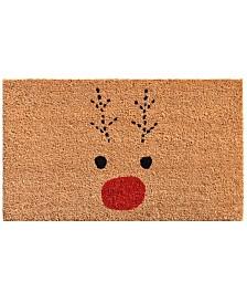 """Rudolph 17"""" x 29"""" Coir/Vinyl Doormat"""