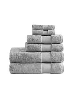 Madison Park Signature 100% Turkish Cotton 6-Pc. Towel Set