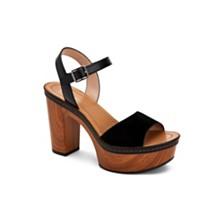 BCBGeneration Zina Two Piece Platform Sandals