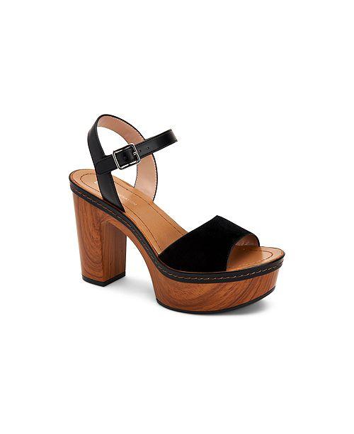 3df8cd72482f BCBGeneration Zina Two Piece Platform Sandals   Reviews - Sandals ...