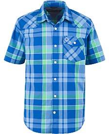 Tommy Hilfiger Big Boys Casper Plaid Shirt