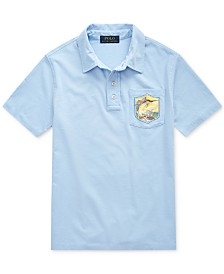 Polo Ralph Lauren Big Boys Marlin Cotton Jersey Polo Shirt