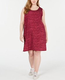 Columbia Plus Size Anytime Printed Active Dress