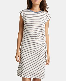 Silver Jeans Co. Arlene Striped T-Shirt Dress