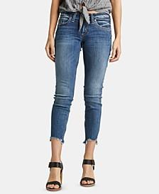 Step-Hem Boyfriend Jeans