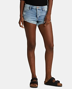 9d9454720470 Silver Jeans Co. Distressed Denim Shorts