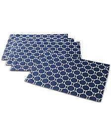 C. Wonder Boardwalk Dot Navy Placemats, Set of 4