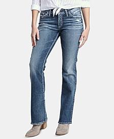 Suki Distressed Bootcut Jeans
