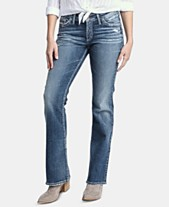 ee6429a0e11 Silver Jeans Co. Suki Distressed Bootcut Jeans