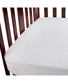 Fitted Waterproof Crib Mattress Pad