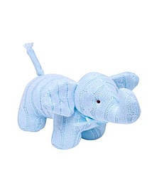 3 Stories Trading Cable Knit Snuggle Elephant