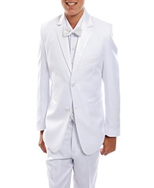 Classic Fit Solid 2 Button Tuxedo for Boys