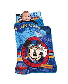 Disney Mickey Mouse Flight Academy Toddler Nap Mat
