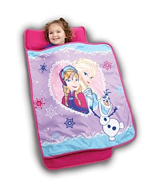 Disney Frozen Elsa Anna and Olaf in Sisterly Love Toddler Nap Mat