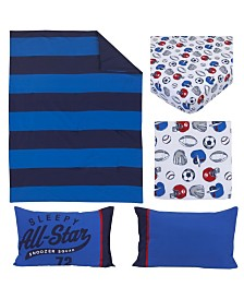 Carter's All Star 4 Piece Toddler Bed Set