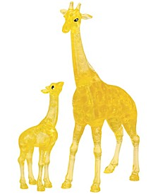 3D Crystal Puzzle-Giraffe and Baby - 38 Pcs