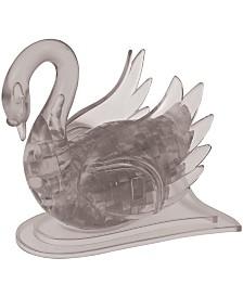 BePuzzled 3D Crystal Puzzle-Swan Black - 43 Pcs