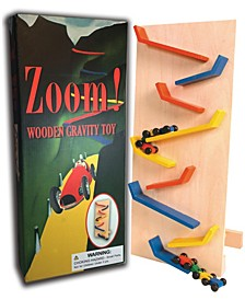 Perisphere & Trylon Zoom Wooden Gravity Toy