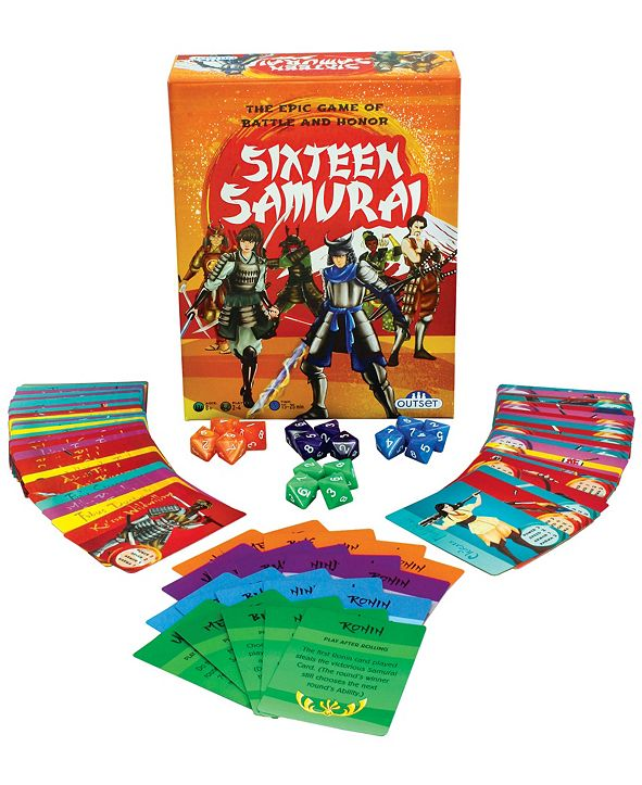 Outset Media Sixteen Samurai