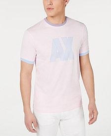 A|X Armani Exchange Men's Pastel Logo T-Shirt Created For Macy's