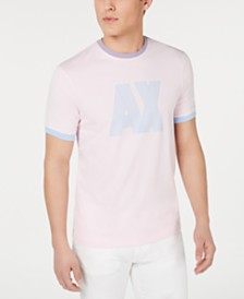 A|X Armani Exchange Men's Pastel Logo T-Shirt Created For Macy's