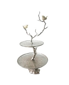 Iron Branch 2-Tiered Tray