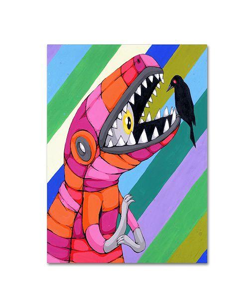 "Trademark Global Ric Stultz 'Fear Inside A Tough Exterior' Canvas Art - 24"" x 18"" x 2"""