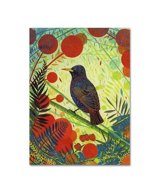 """Trademark Global Michelle Campbell 'Starling' Canvas Art - 19"""" x 14"""" x 2"""""""