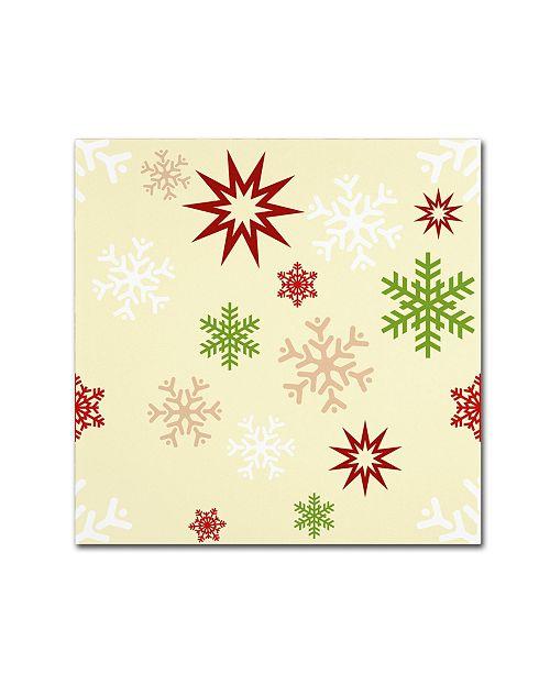 "Trademark Global Tina Lavoie 'Beautiful Christmas IX' Canvas Art - 18"" x 18"" x 2"""