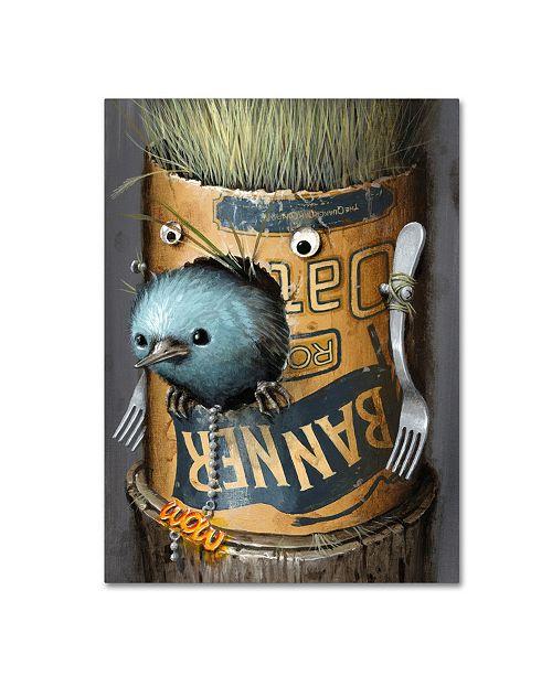 "Trademark Global Jason Limon 'Refusuffix 09' Canvas Art - 24"" x 18"" x 2"""