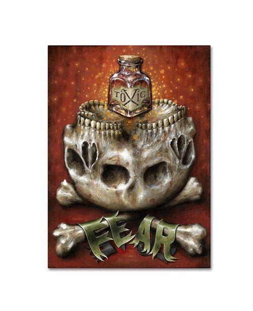 "Trademark Global Jason Limon 'Toxic' Canvas Art - 47"" x 35"" x 2"""