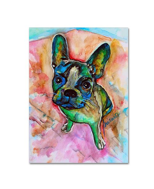 "Trademark Global Prisarts 'Coco' Canvas Art - 24"" x 18"" x 2"""