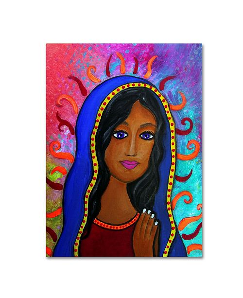 """Trademark Global Prisarts 'Our Lady Of Guadalupe' Canvas Art - 19"""" x 14"""" x 2"""""""