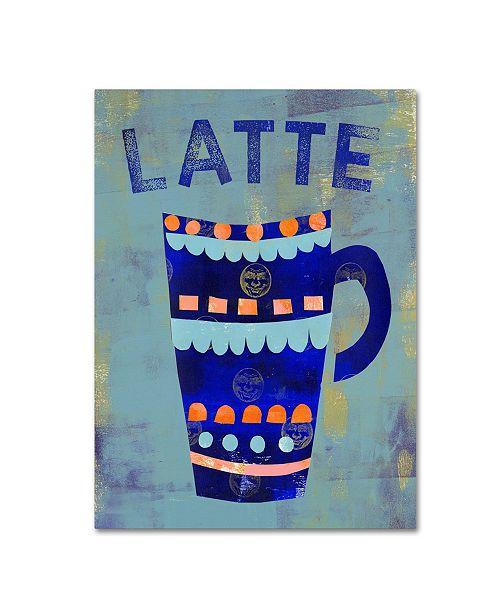 "Trademark Global Summer Tali Hilty 'Coffee 3' Canvas Art - 24"" x 18"" x 2"""