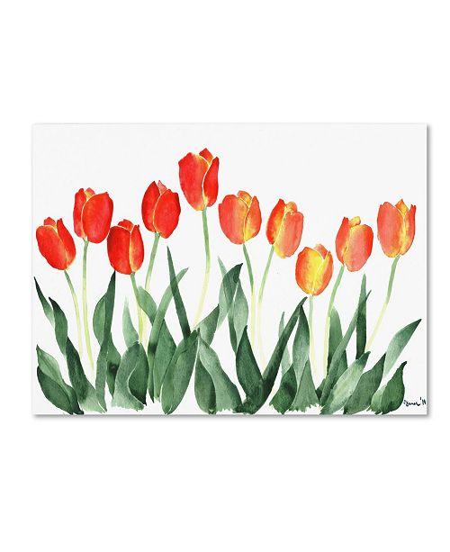 "Trademark Global Nicky Kumar 'Tulips' Canvas Art - 24"" x 18"" x 2"""