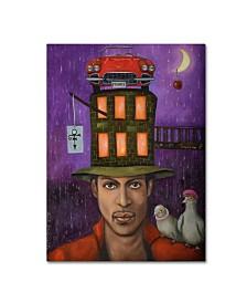 """Leah Saulnier 'Prince' Canvas Art - 47"""" x 35"""" x 2"""""""
