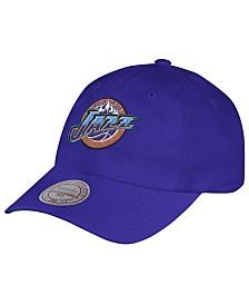 Mitchell & Ness Utah Jazz Hardwood Classic Basic Slouch Cap